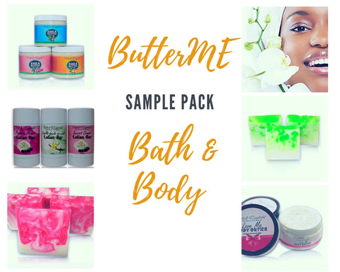 ButterME Bath & Body Sample Pack