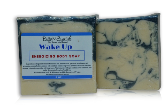 Wake up body soap