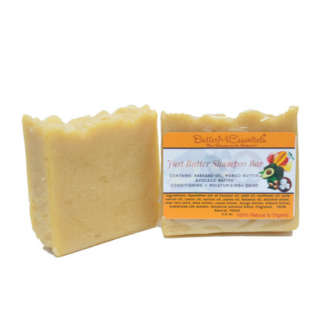Just Butter Shampoo Bar
