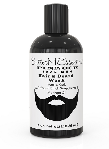 Men Beard and Hair Wash