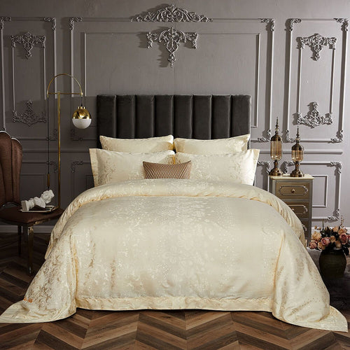 Dolce Mela Ambassador Cotton Luxury Queen & King Duvet Cover Reversible Design Bedroom Bedding Sets - My Bedding Obsession