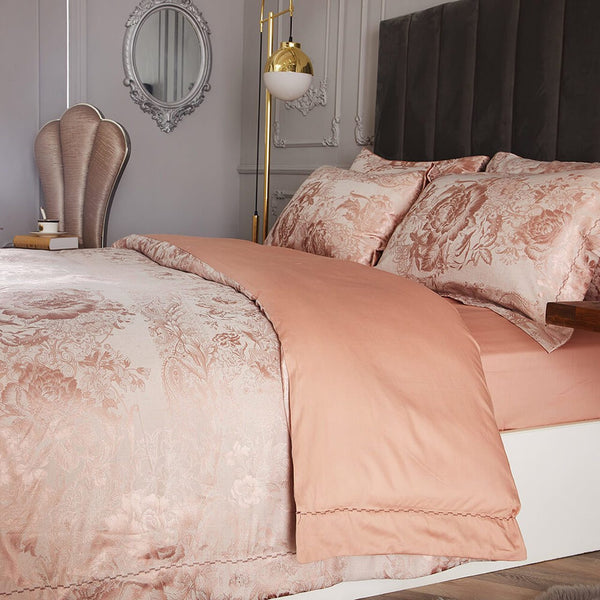 Dolce Mela Vienna  Cotton Luxury Queen & King Duvet Cover Reversible Design Bedroom Bedding Sets - My Bedding Obsession