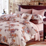 Dolce Mela Abloom 100% Cotton Luxury King Duvet Cover Reversible Design Bedroom Bedding Set - My Bedding Obsession