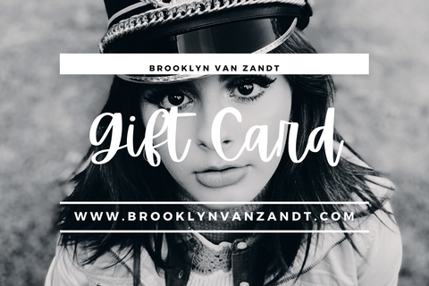 Brooklyn Van Zandt Gift Card