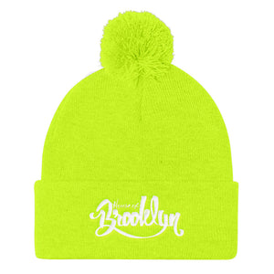 HOBFam Pom Pom Knit Cap, , House of Brooklyn