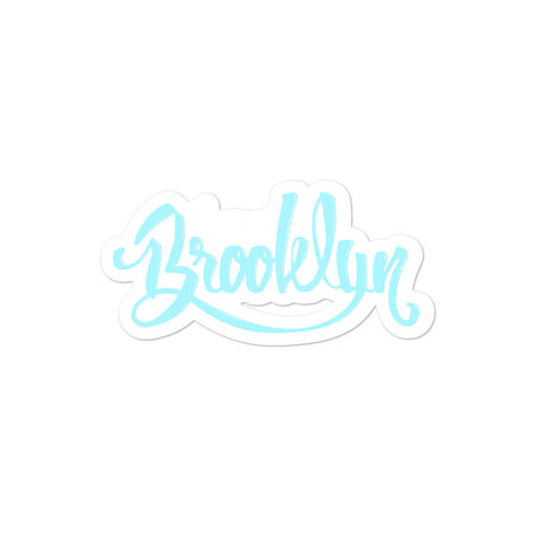 HouseofBrooklyn Bubble-free stickers