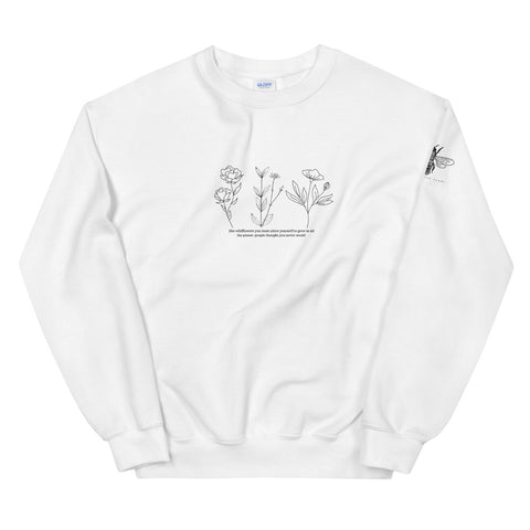 Wildflower field quote sweatshirt