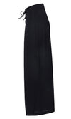 Cast A Wide Net High Waist Lace Up Pleated Loose Wide Leg Pants - 2 Colors Available