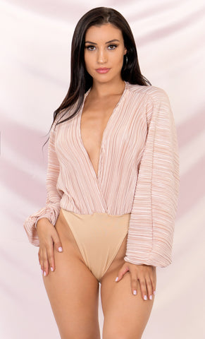 Top Of The Charts Pink Ruched Mesh Long Sleeve Off The Shoulder Ruffle Tie Front Bodycon Casual Mini Dress