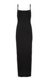 Ready For More Black Sleeveless Adjustable Strap Scoop Neck Bodycon Maxi Dress