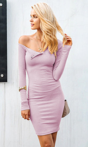 On The Bright Side PU Faux Leather Sleeveless V Neck Bodycon Mini Dress - 2 Colors Available
