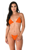 Chic Summer Glitter Strap Crisscross Plunge V Neck Backless One Piece Swimsuit - 3 Colors Available