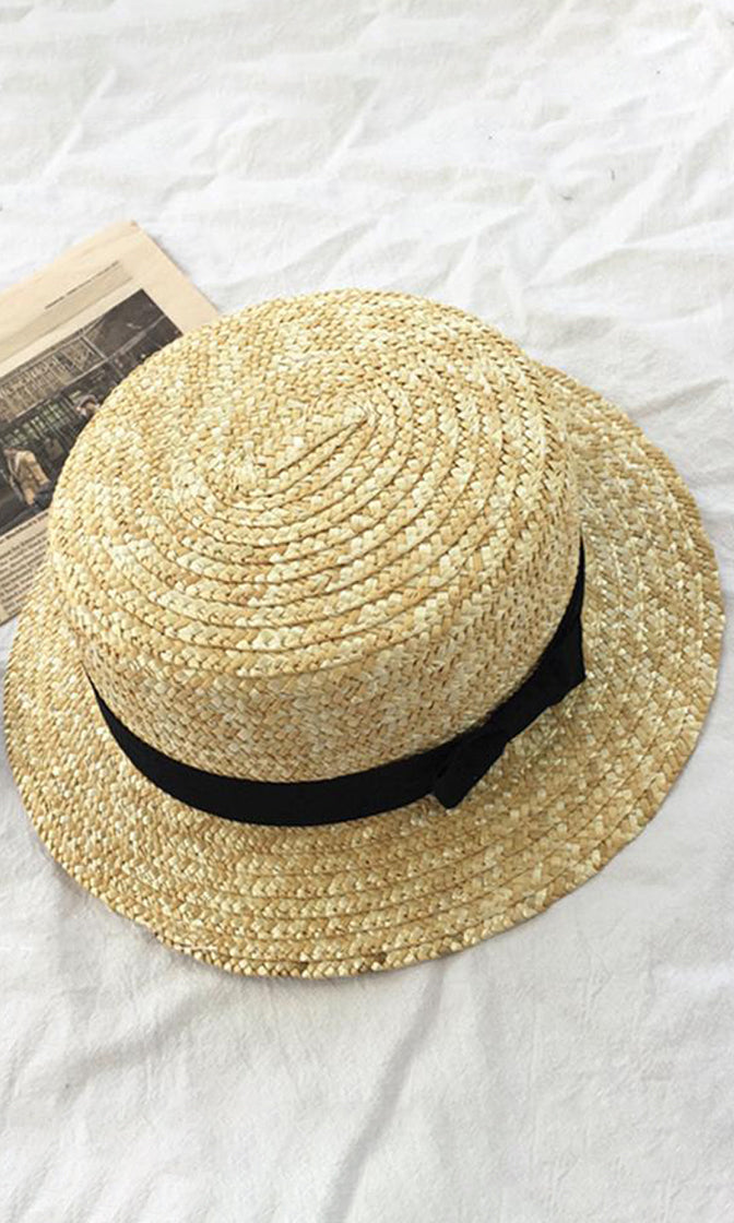 Check This Out Light Brown Panama Straw Sun Hat