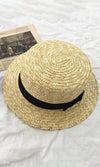 Check This Out Light Brown Panama Straw Sun Hat - Sold Out