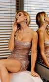 Bad Timing Sequin Strapless Bodycon Mini Dress - 3 Colors Available - Sold Out