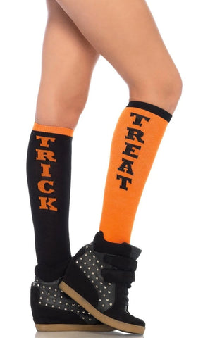 LA Attitude Black White Two Stripe Anklet Socks
