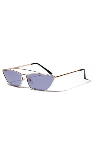 Ever Present Metal Cat Eye Sunglasses - 6 Colors Available