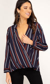 On Top Of Things Wool Long Sleeve Drape Wide Collar Jacket Outerwear - 2 Colors Available