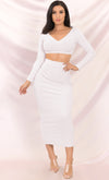 I Mean Business White Sleeveless Scoop Neck Bodycon Mini Dress - 7 Colors Available