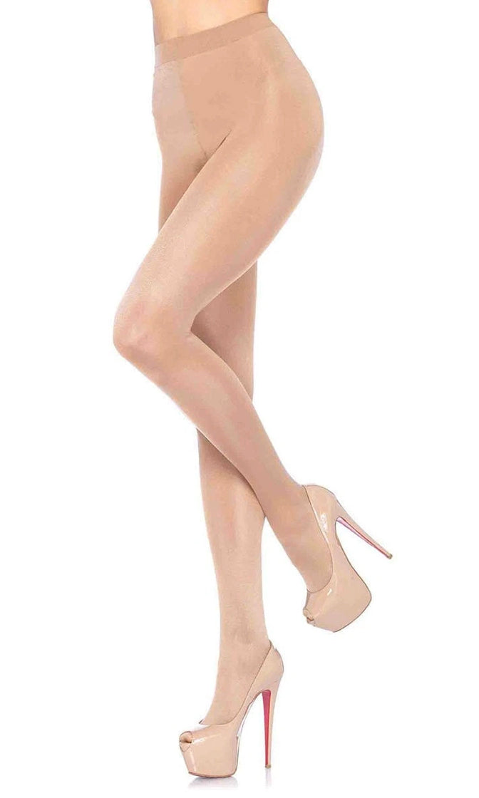 Showing My Support Spandex Sheer To Waist Support Stockings Tights Hosiery - 3 Colors Available