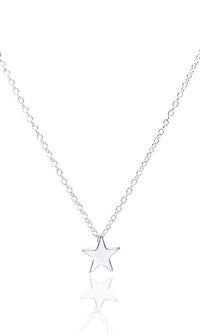 She's A Star Metal Chain Star Pendant Necklace - 2 Colors Available - Sold Out