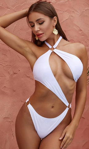 Shining In The Sun Gold Metallic Spaghetti Strap Push Up Bra Top Low Rise Bikini Two Piece Swimsuit - 4 Colors Available