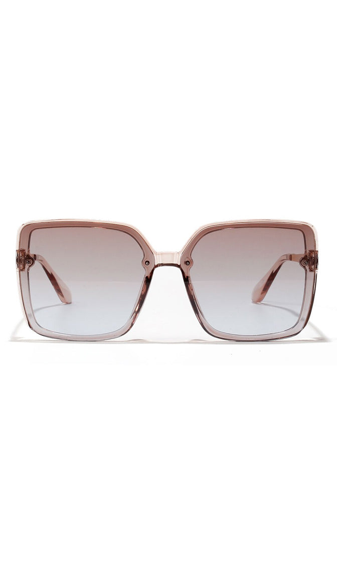 Sunny Morning Square Oversized Plastic Sunglasses - 3 Colors Available
