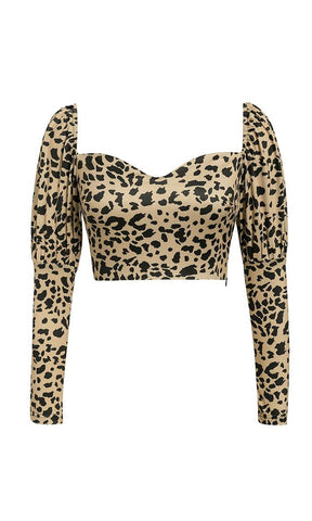 Cashing Checks Black Gold Button Long Sleeve Round Neck Bodysuit Top