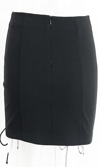 4138e502e Bow Down Black Lace Up Grommet Bodycon Mini Skirt - Sold Out – Indie XO