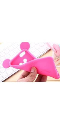 Forever Young Fuchsia Pink Mickey Mouse Ears Silicone Phone Case Cover - Sold Out