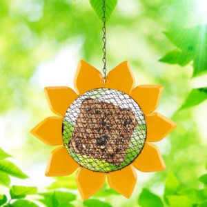 Sunflower Suet Feeder