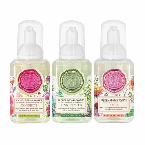 Michel Design Foaming Handsoap 3 pk