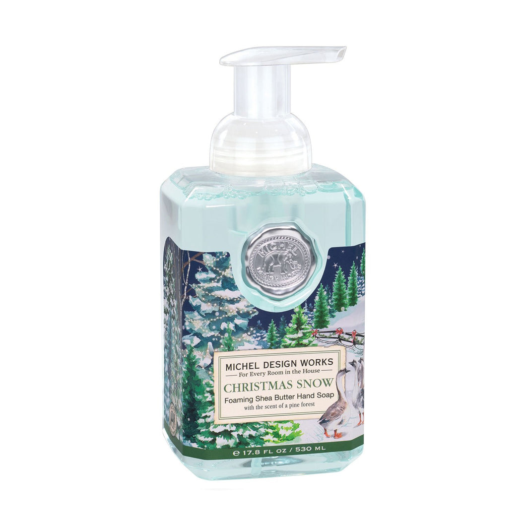 Michel Design Christmas Snow Foaming Hand Soap