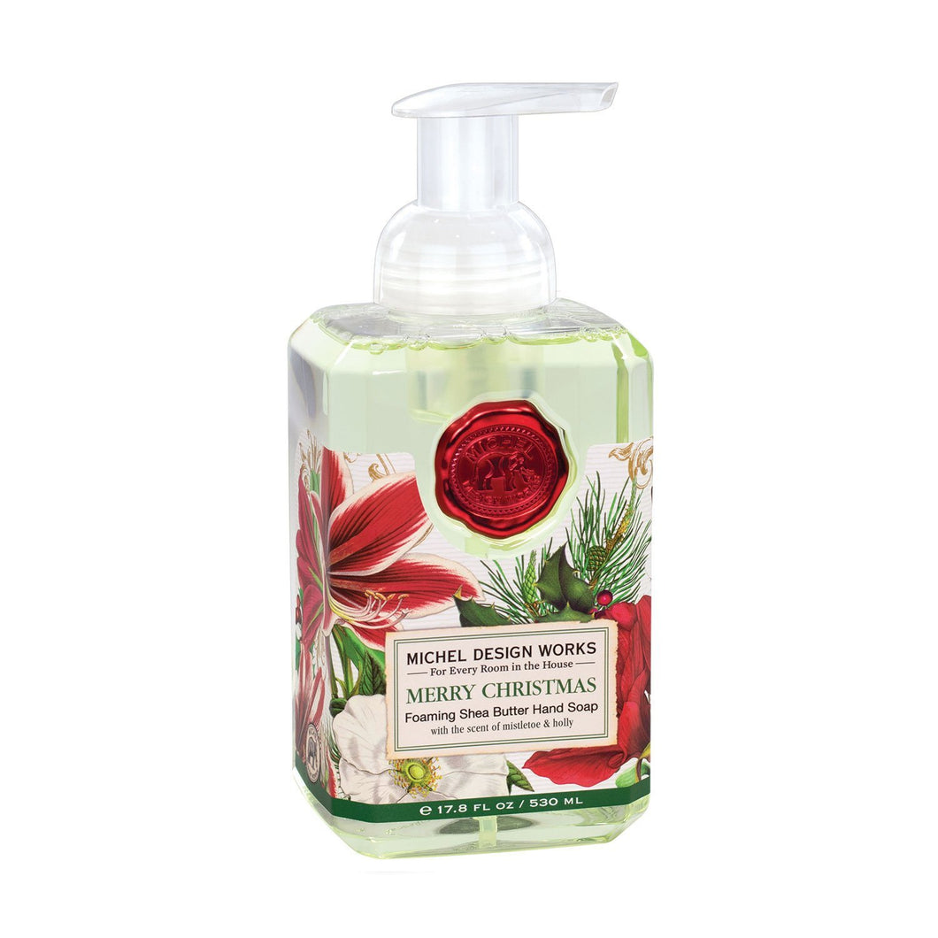 Michel Design Merry Christmas Foaming Hand Soap