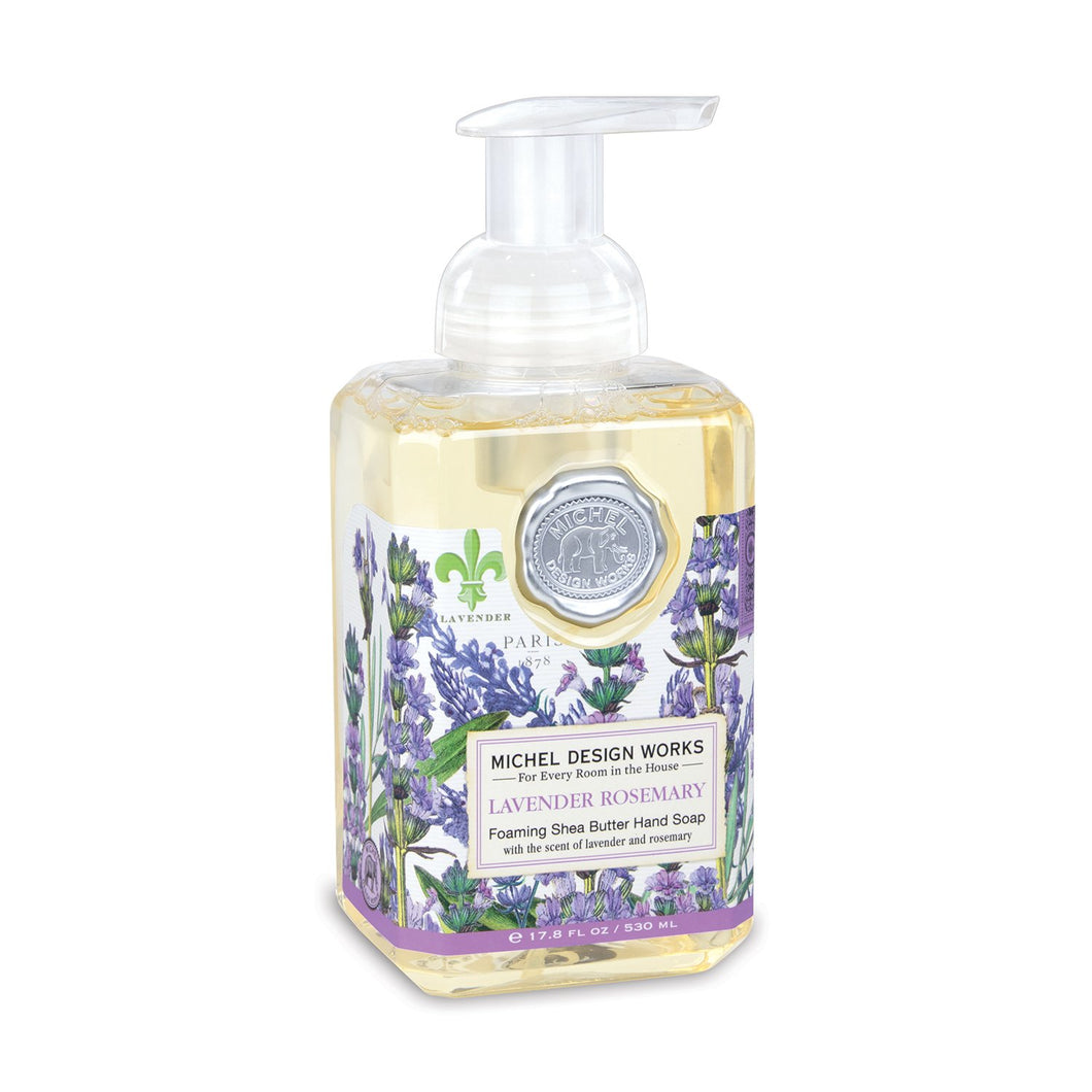 Michel Design Lavender Rosemary Foaming Hand Soap