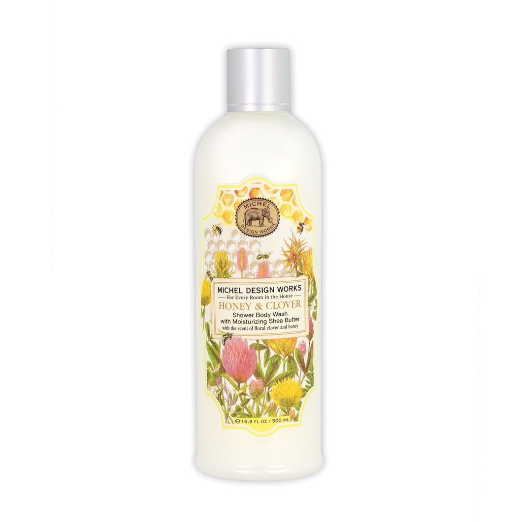 Michel Design Honey & Clover Body Wash 500 mL