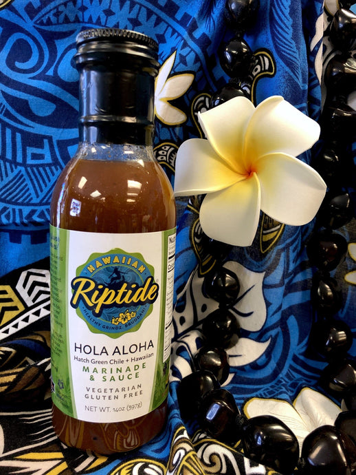Hola Aloha Marinade & Sauce (Hatch Green Chile + Hawaiian)