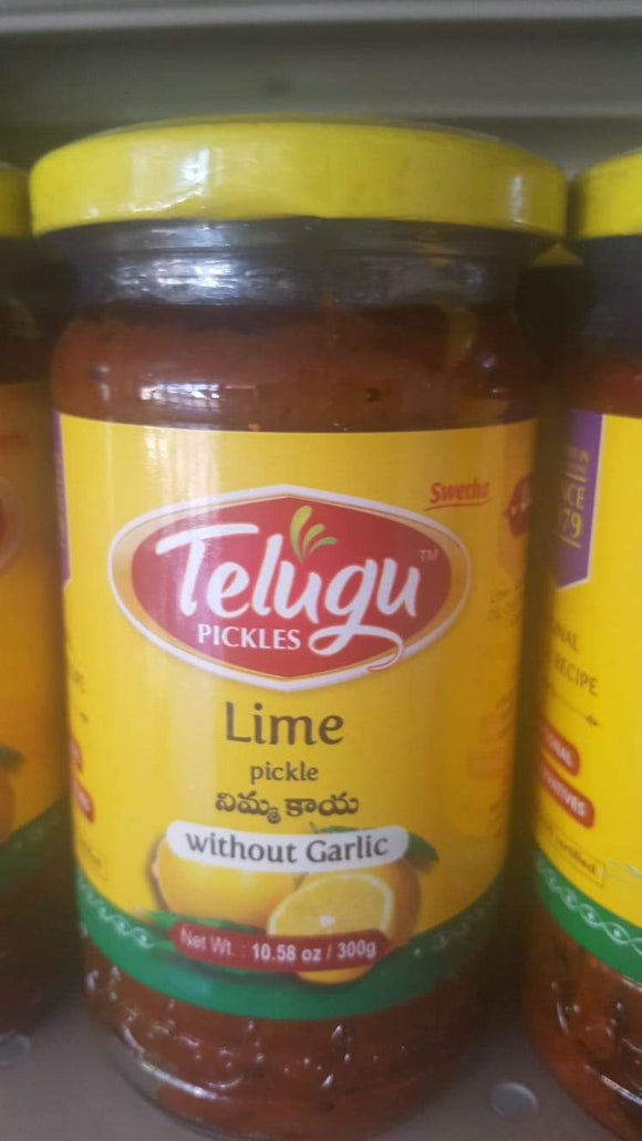 Telugu - Lime Pickle 300g – The Indian Warehouse