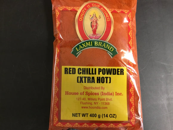 LAXMI  EXTRA HOT CHILLI POWDER  400 GM