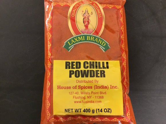 LAXMI  RED CHILI POWDER 400 GM