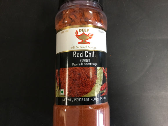 Deep Red Chilli Powder(Plastic Bottle)14.1 oz