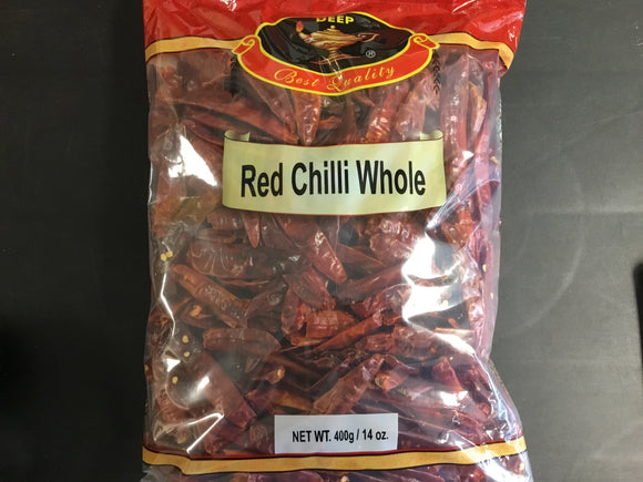 Deep Red Chilli Whole 14oz