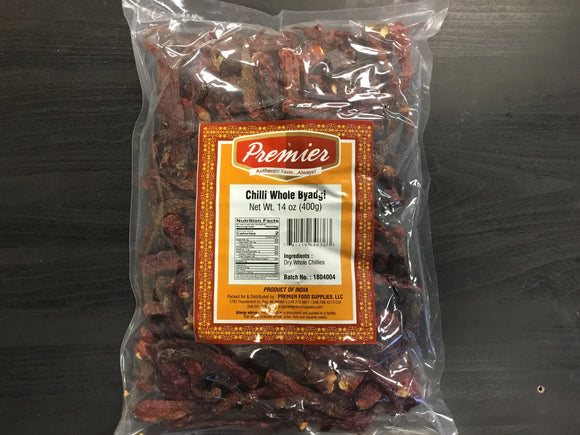 Premier Byadgi Red Chilli Whole Long 400g