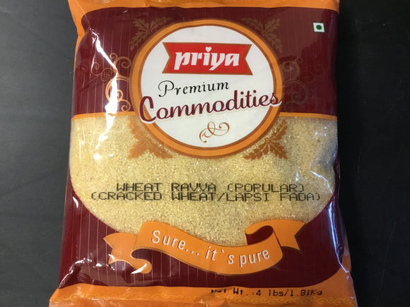Priya - Popular Wheat Rawa 4lb