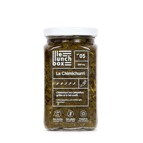 LE LUNCH BOX WEBSITE ECOMMERCE CHIMICHURRI MONOLITH