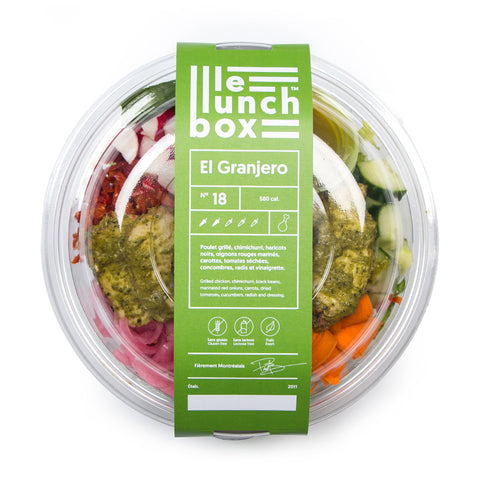 LE LUNCH BOX WEBSITE ECOMMERCE GRANJERO MONOLITH