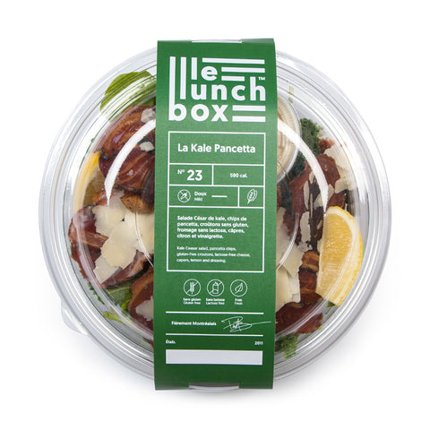 LE LUNCH BOX WEBSITE ECOMMERCE KALE PANCETTA SALADE CÉSAR MONOLITH