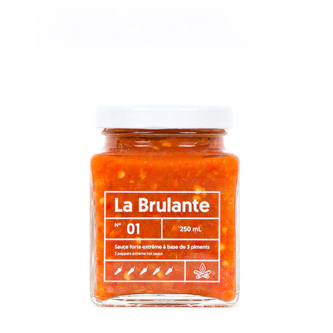 LE LUNCH BOX WEBSITE ECOMMERCE BRULANTE SAUCE 3 PIMENTS MONOLITH