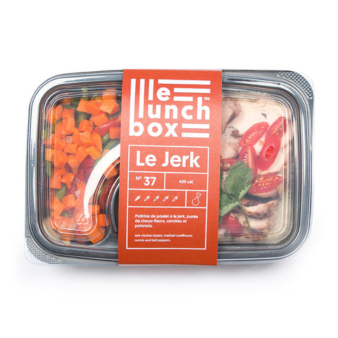 LE LUNCH BOX WEBSITE ECOMMERCE LE JERK POULET À LA JERK MONOLITH