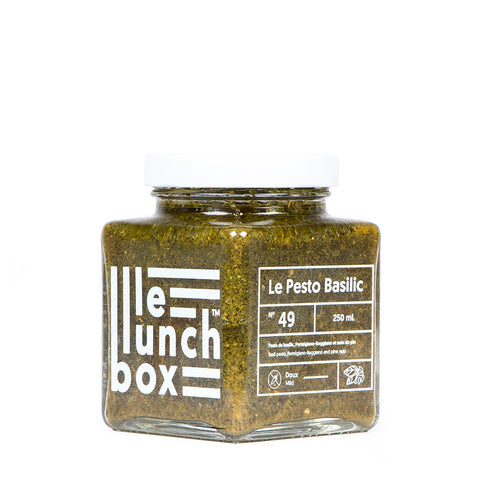 LE LUNCH BOX WEBSITE ECOMMERCE PESTO BASILIC MONOLITH